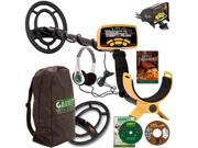 "Garrett ACE 250 Sports Pack Metal Detector W/Powerful 6.5"" x 9"" &  9"" x 12"" Submersible Searchcoils, Headphones, BackPack, Rain Cover-Up, Field Guide, Training DVD Plus Bonus CD"