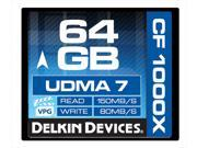Delkin Devices | DDCFCOMBAT1000 64GB | 1000X UDMA 7 Compact Flash Memory Card