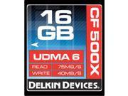 Delkin Devices DDCF500-16GB UDMA 6 16GB CompactFlash Memory Card