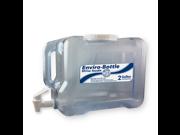 New Wave Enviro Eastar Resin Refrigerator Bottle, 2-Gallon