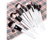 Professional 20pcs Makeup Brush Set with Carrying Case