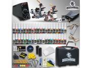 Details about  Tattoo Kit 2 Machine Gun 40 color Inks Power supply needle Grip Tip set HW-8GD-3