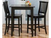 3-Pc Square Bistro Table Set