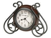 Diane Metal and Wood Alarm Clock
