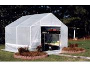 White Rip-Stop Cover for 10-Foot King Canopy Greenhouses