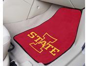 Front Car Mats - Set of 2 - Iowa State University
