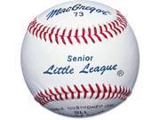 Baseballs - MacGregor 73 Senior Little League, One Dozen