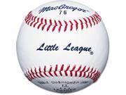 Little League Baseball - Dozen MacGregor 76, RS-T Stamp
