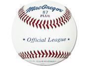 Official League Baseballs - MacGregor 87 Plus, Dozen