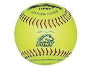 Softballs - MacGregor 11-Inch Pony-Approved - Set of 12