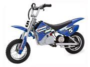 MX 350 Dirt Rocket Miniature Electric Motocross Bike In Blue