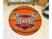 Basketball Floor Mat - Troy University