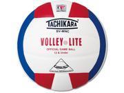 Volleyball - Tachikara SV-MNC Volley-Lite Red/White/Blue Youth 12-Under