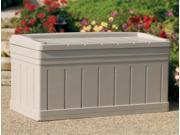 Extra Large Outdoor Storage Bench w Removable Storage Tray