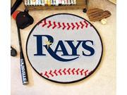 Baseball Floor Mat - Tampa Bay Rays