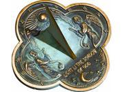 Angel Sundial with Motto