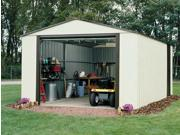 Garden Storage Sheds w Vinyl on Steel Frame -- Customized Sizing (12 ft. x 17 ft.)
