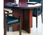Conference Table with 4 Panel Legs (Sierra Cherry)