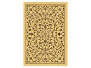 Rectangular Rug in Natural & Brown (5 ft. 3 in. x 7 ft. 7 in.)