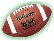 Wilson K2 Composite Football in Pee Wee Size