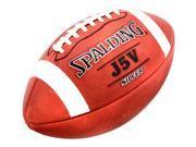 Spalding J5V Silver Pro Football in Full Grain Horween Leather