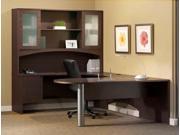 Brighton Series Office Desk Set in Mocha Finish (Paper Management)