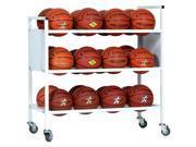Double Wide Ball Cart - 24 Balls