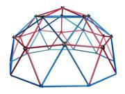 Kids Metal Dome Climber in Red & Blue