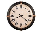 Atwater 24in Round Metal Wall Clock