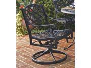 Outdoor Dining Chair (Black)