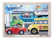 On the Go (Vehicles) Jigsaw (12 pc)