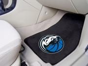 Dallas Mavericks Carpeted Car Mats - Set of 2