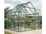 Snap and Grow Greenhouse in Green (8 ft. x 20 ft.)
