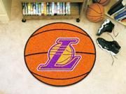 Los Angeles Lakers Basketball Mat