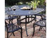 Outdoor Dining Table in Black (Black)