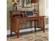 Executive Desk with Hutch (Cottage Oak)