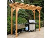 New Dawn Pergola (36 in. L x 168 in. H)