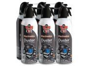 Falcon Safety Products Dust-Off Xl Compressed Gas Duster, 10 oz., 6/Pack