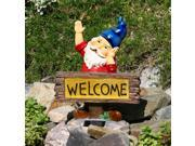 Solar Welcome Gnome