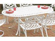 Outdoor Oval Dining Table