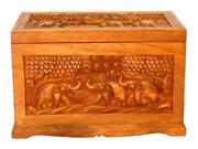 Handmade Wood Storage Chest