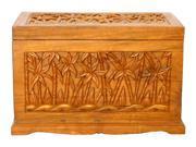 23 in. Handmade Wood Storage Chest