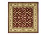 Traditional Square Rug (6 ft. x 6 ft.)