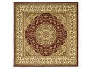 Traditional Machine Made Square Rug (6 ft. x 6 ft.)
