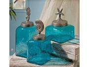 Sea Life Canister Set - Set of 3