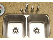 Medallion Classic 50-50 Double Sink