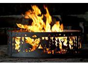 Campfire Fire Ring - Northwoods Campground w All-Steel Durability (48 in. Dia.)