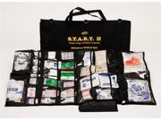 217 Pc S.T.A.R.T. II Trauma Kit w Black Bag