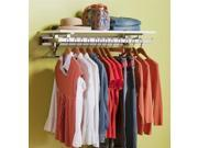 36 in. Wall Mount Clothes Rack