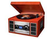 Turntable, CD Recorder and AM/FM Radio with Remote Control